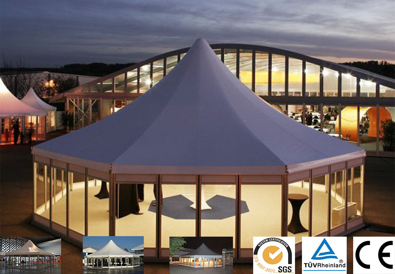 & Multi-side TentRound Tent for sale - Olltent Round Event Tent